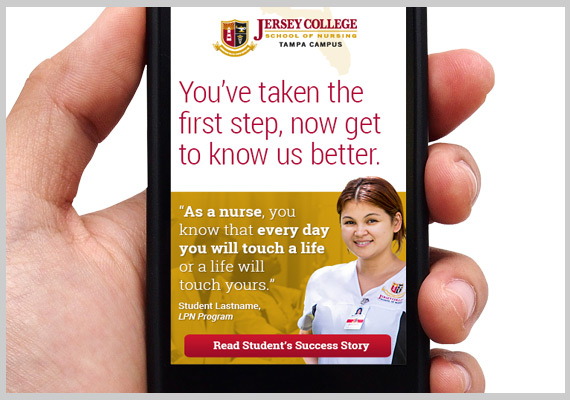 Jersey College Email Marketing