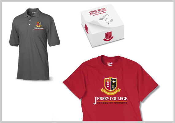 Jersey College Store Swag