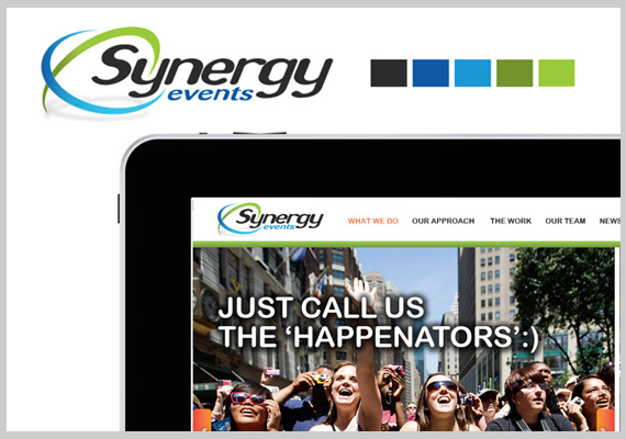 Synergy Events Website